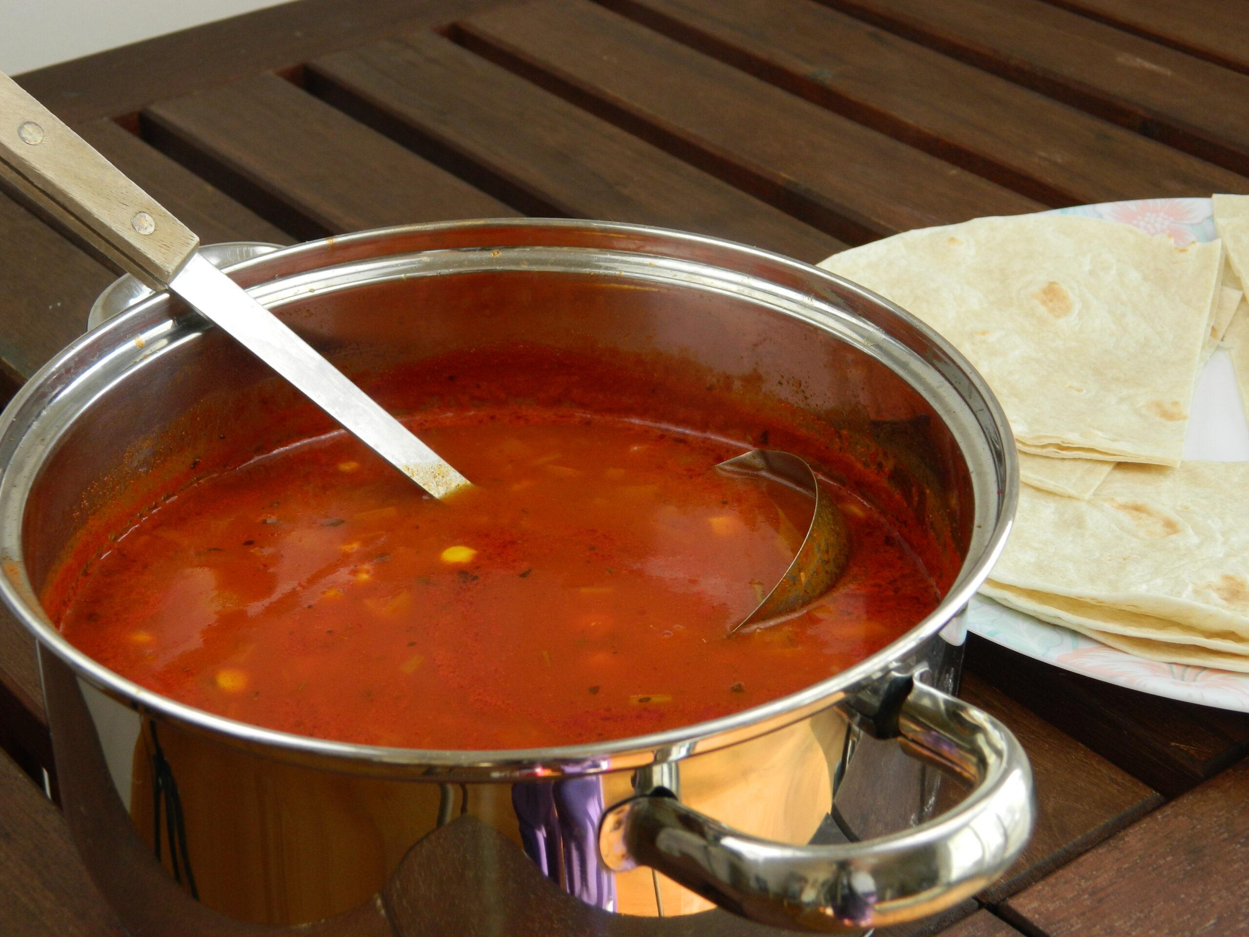 soup mexican tomato