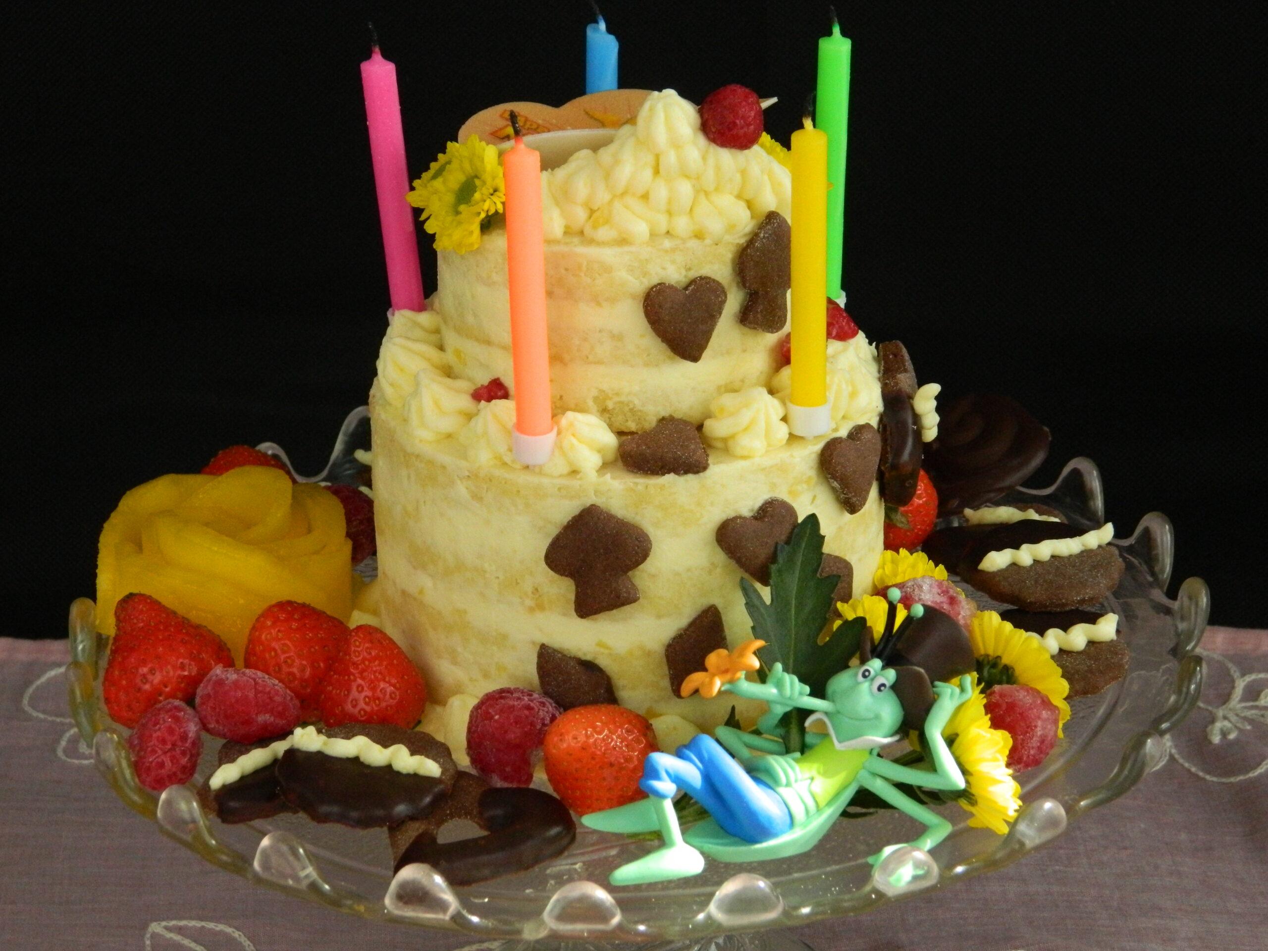 Scrumptious Vanilla Layered Cake