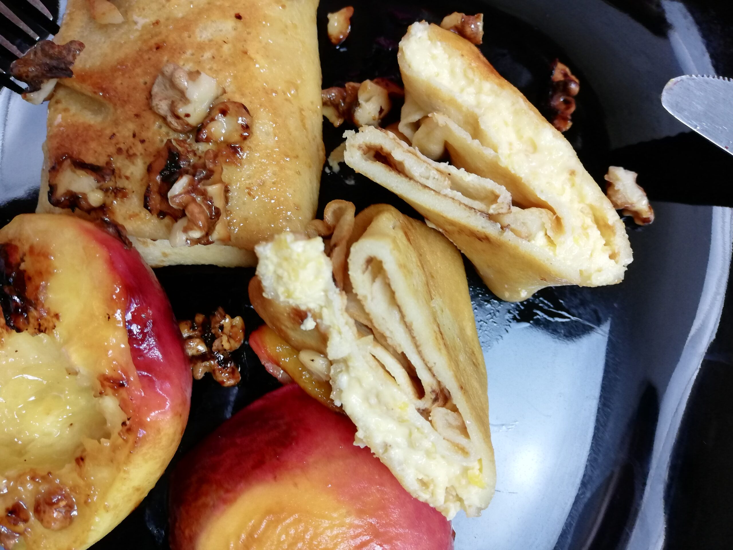 Russian Fruit and Quark Pancakes