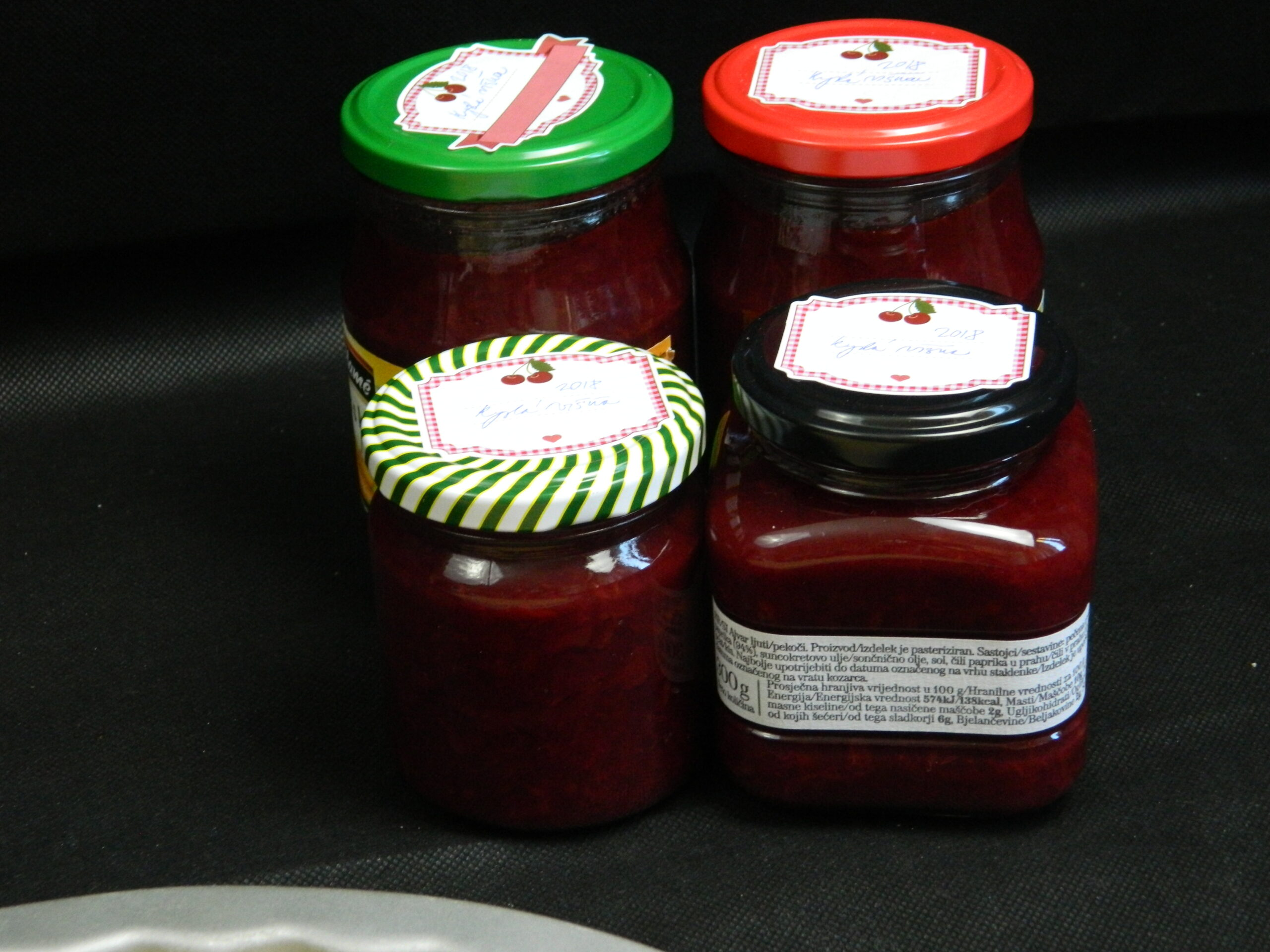 sour cherry marmalade