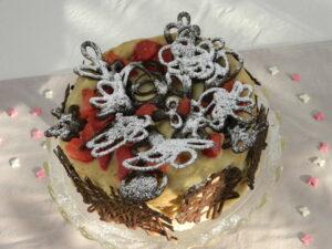 Carnival Launch - Festive Chestnut and Hazelnut Meringue