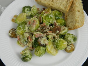 Chestnutty Brussels Sprouts