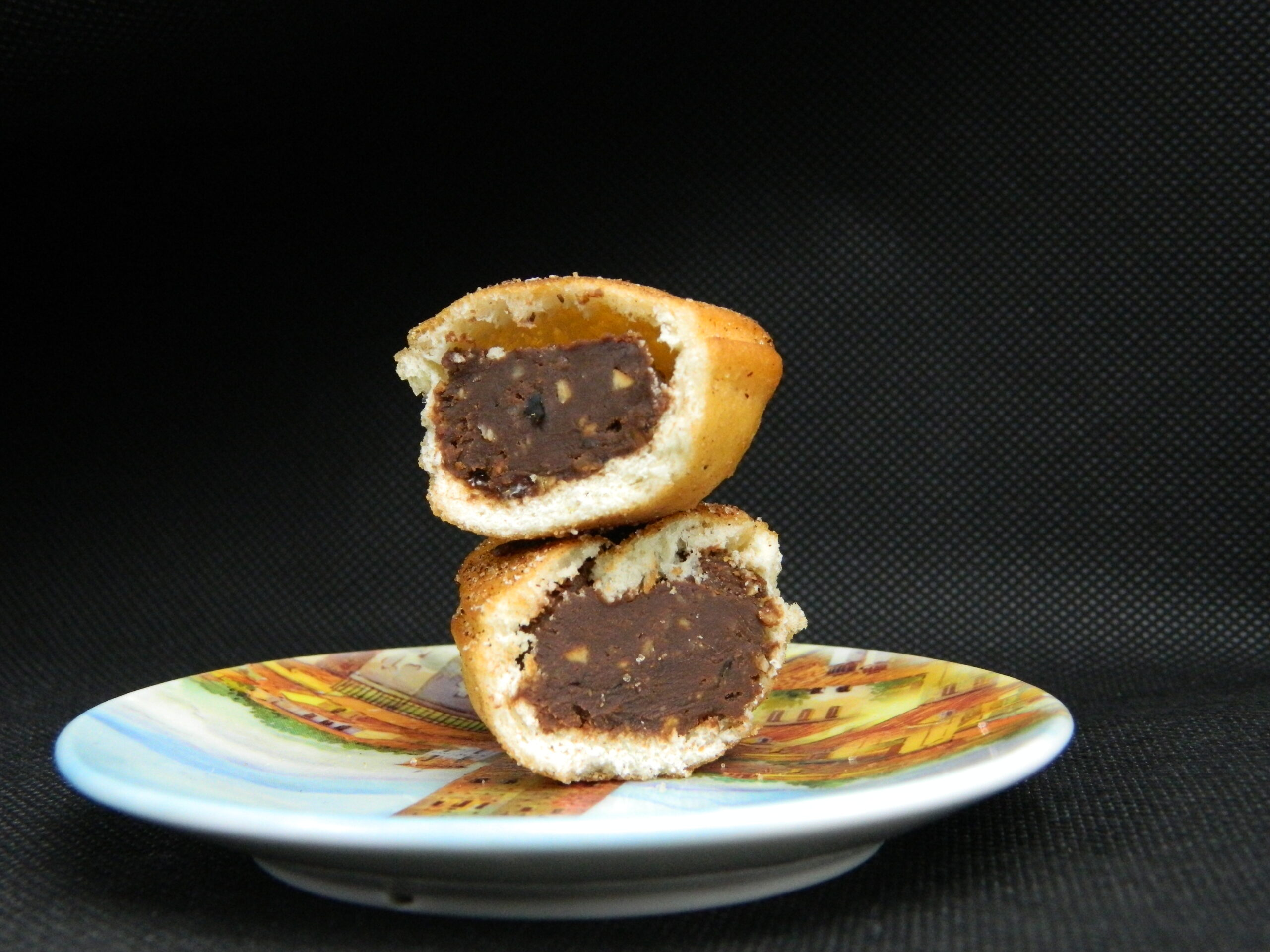 chocolate mini fritters