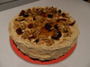 Coffee Cake with Cardamom and Walnuts