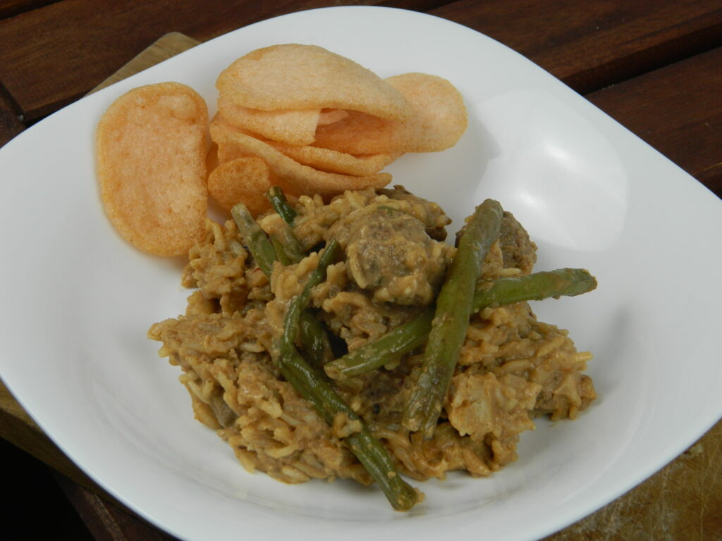 Delicious Satay Meatballs