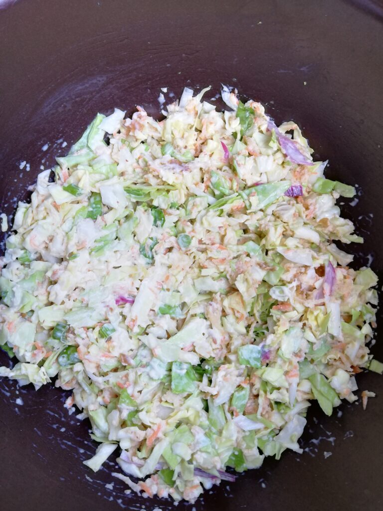 easy chetnas coleslaw