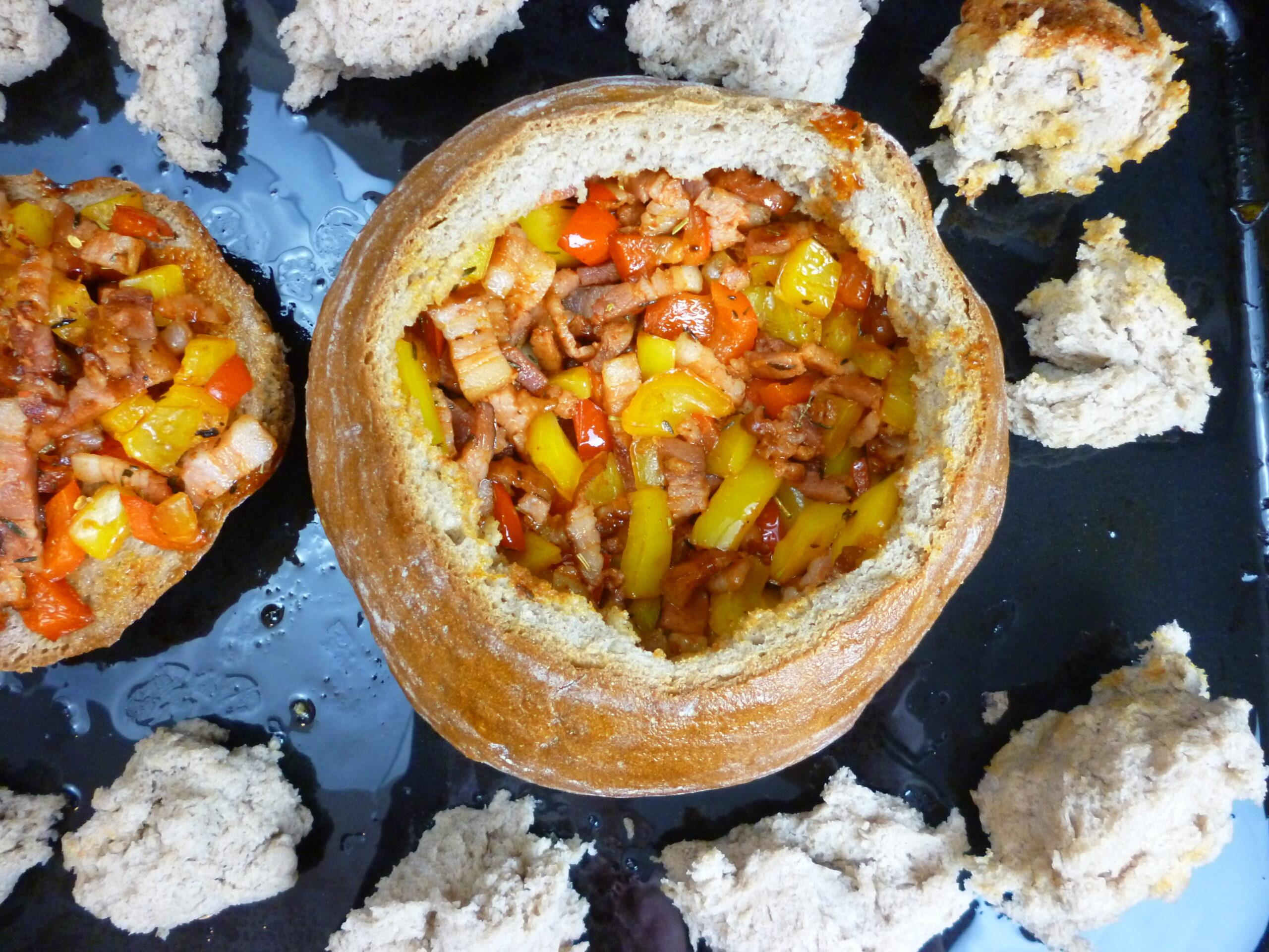 Farmer's Cheese Fondue