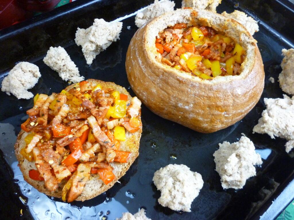 Easy Farmer's Cheese Fondue