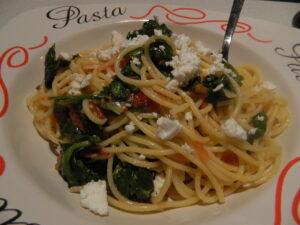 Easy Veggie Spaghetti