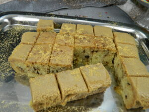 Fudgy Coffee Cake Slice