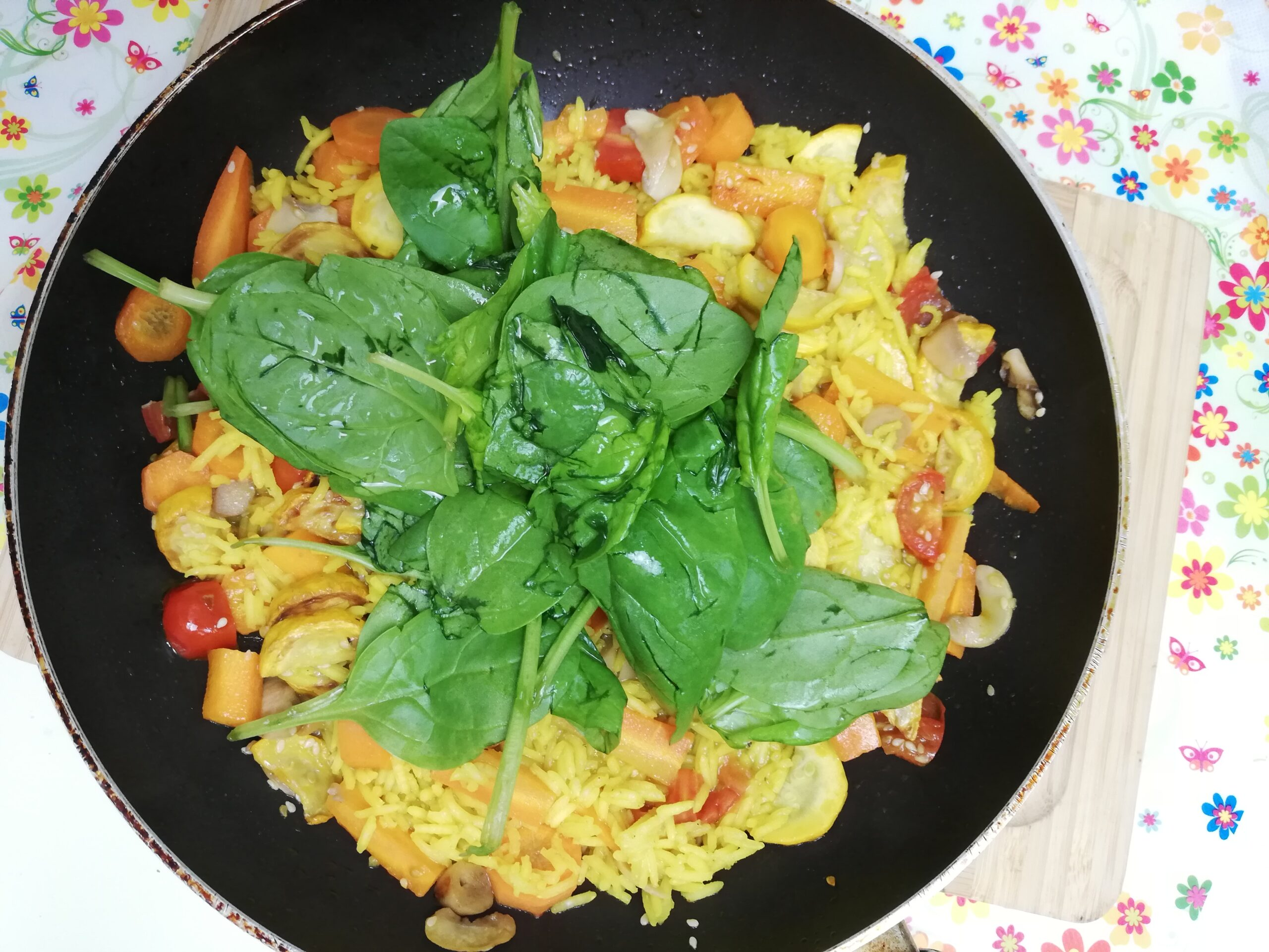 Yellow Healthy Risotto