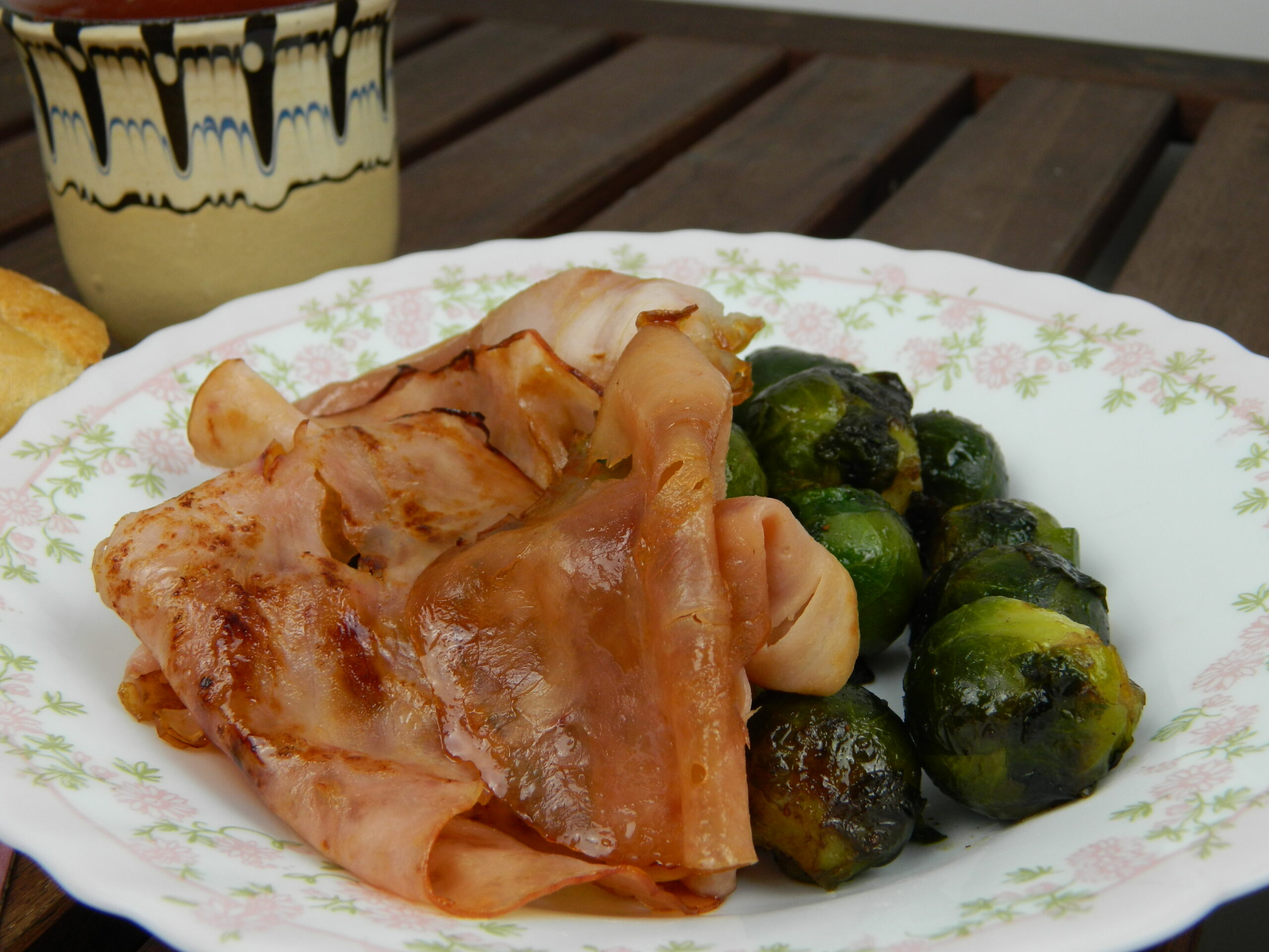 brussels sprout ham