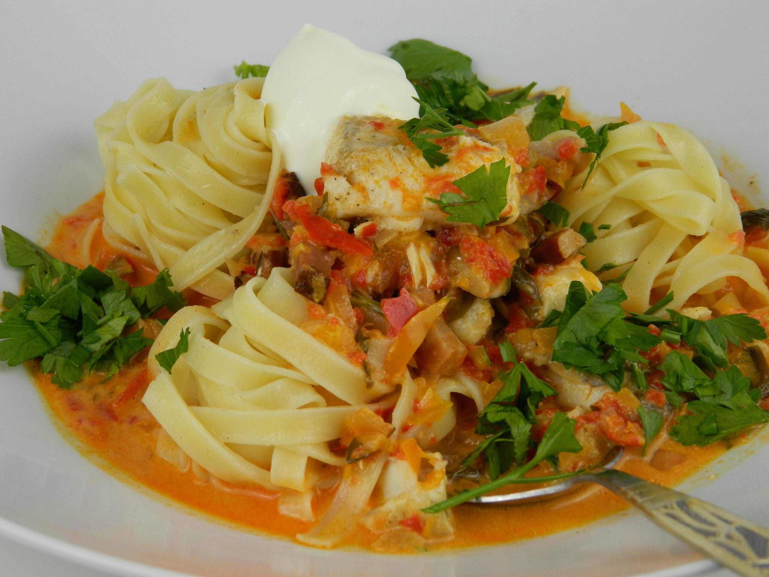 zander fish stew